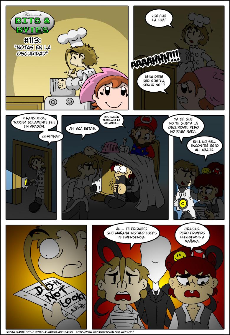 113: Notas en la oscuridad