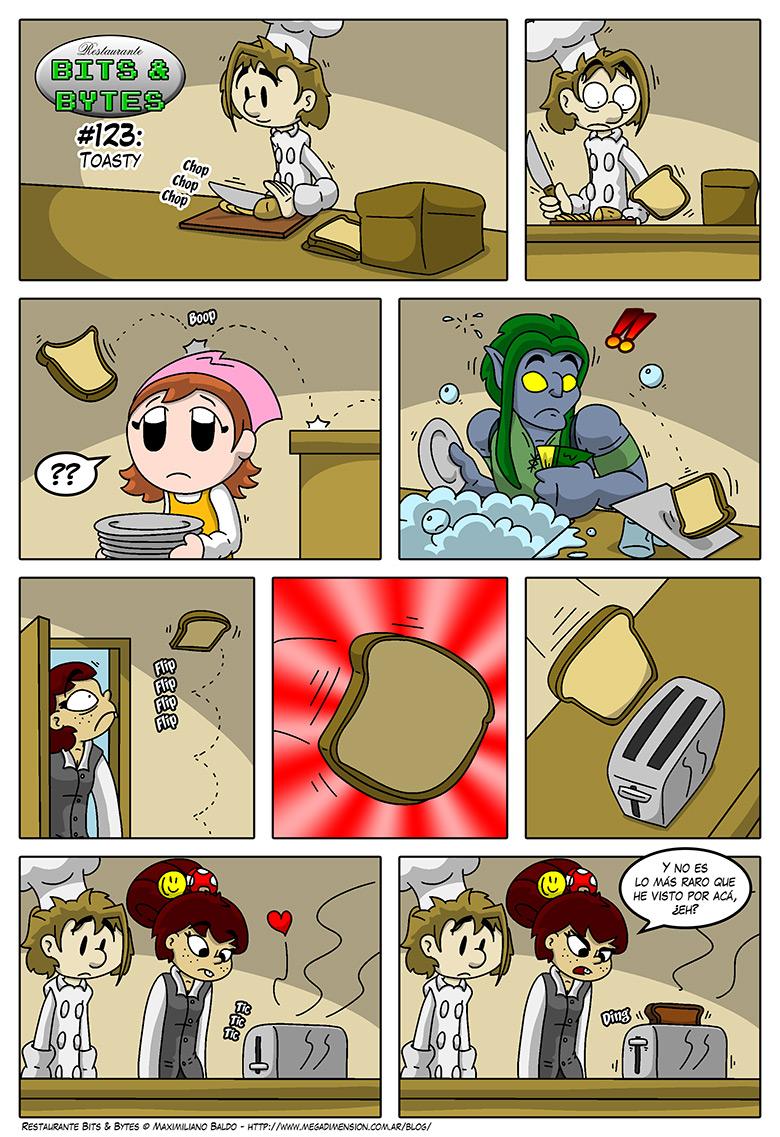 123: Toasty